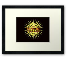 THE FUTURE LOOKS BRIGHT Framed Print