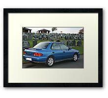 My Subaru Framed Print
