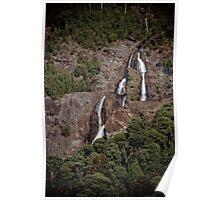St Columba Falls, Tasmania Poster