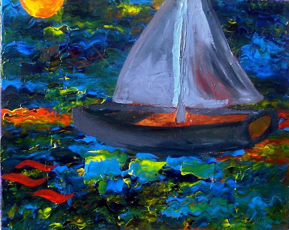 Voyage with a Sea Serpent by Karen L Christophersen