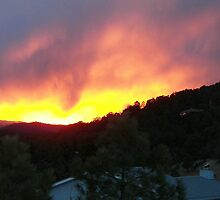 sunset by neonrose77