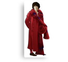 The 4th Doctor - Tom Baker Canvas Print