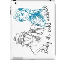 Dreaming of a Frozen Christmas iPad Case/Skin