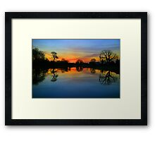 MORNING IN KILTULLAGH Framed Print