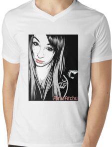 AimAtchu Vector Shirt Mens V-Neck T-Shirt