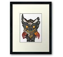 Deathwing Framed Print
