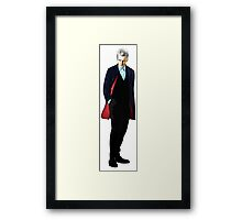 The 12th Doctor - Peter Capaldi Framed Print