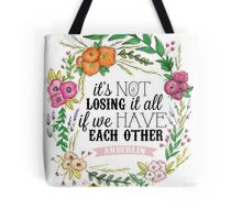 Anberlin - Losing It All Tote Bag