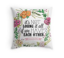 Anberlin - Losing It All Throw Pillow