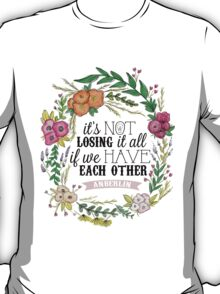 Anberlin - Losing It All T-Shirt