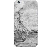 Sailing Ship off Castle Cornet in Guernsey - all products iPhone Case/Skin