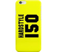 Hardstyle Football (Black) iPhone Case/Skin