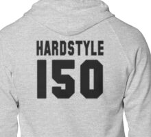Hardstyle Football (Black) Zipped Hoodie