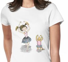 Ballet Lessons Womens Fitted T-Shirt