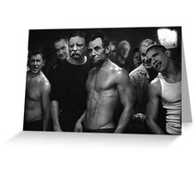Presidential Fight Club Greeting Card