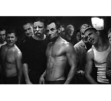 Presidential Fight Club Photographic Print