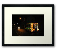 Knight Emergency of the Dolorous Countenance Framed Print