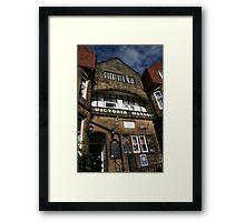 Victoria Hotel Framed Print