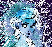 Watercolour Elsa by Narelle Craven