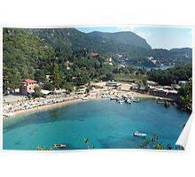 Pretty Greek Bay Poster