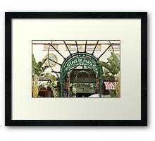 Café de Paris, Monaco Framed Print
