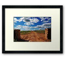Vineyard # 2  Framed Print