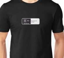 Rated X Unisex T-Shirt