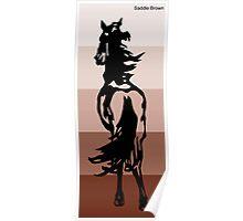 Saddle Brown Poster