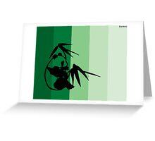 Bamboo Greeting Card