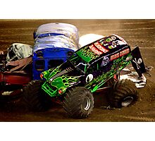 Monster Truck Show Photographic Print