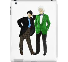 Doctor Who - Doctors 2 and 3 iPad Case/Skin