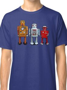 Three Robots. Classic T-Shirt