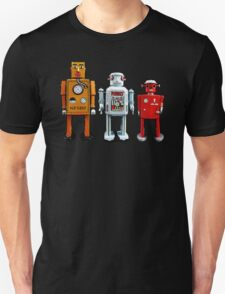 Three Robots. T-Shirt
