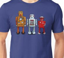 Three Robots. Unisex T-Shirt
