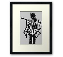 Death Grips | MC Ride  Framed Print