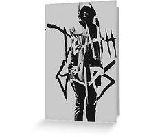 Death Grips | MC Ride  Greeting Card