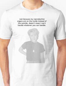 Samantha Carter reproductive organs Unisex T-Shirt