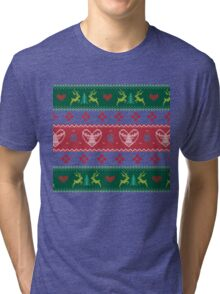 Ugly Christmas Sweater III Tri-blend T-Shirt