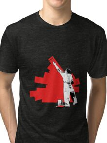 Renovate yourself - red Tri-blend T-Shirt
