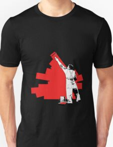 Renovate yourself - red Unisex T-Shirt
