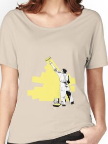 Renovate yourself - yellow Women's Relaxed Fit T-Shirt