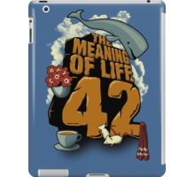 The Meaning of Life iPad Case/Skin