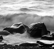 Superior on the Rocks by Bill Morgenstern