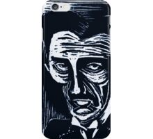 tesla (version 1 blue) iPhone Case/Skin