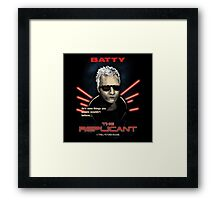 The Replicant Framed Print