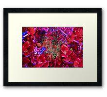 martian succulents Framed Print