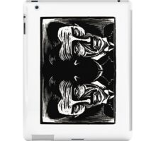tesla (version 1 double) iPad Case/Skin