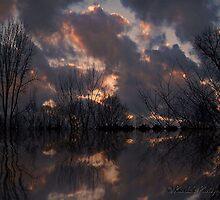 Sunset serenity..... by Rhonda Ford