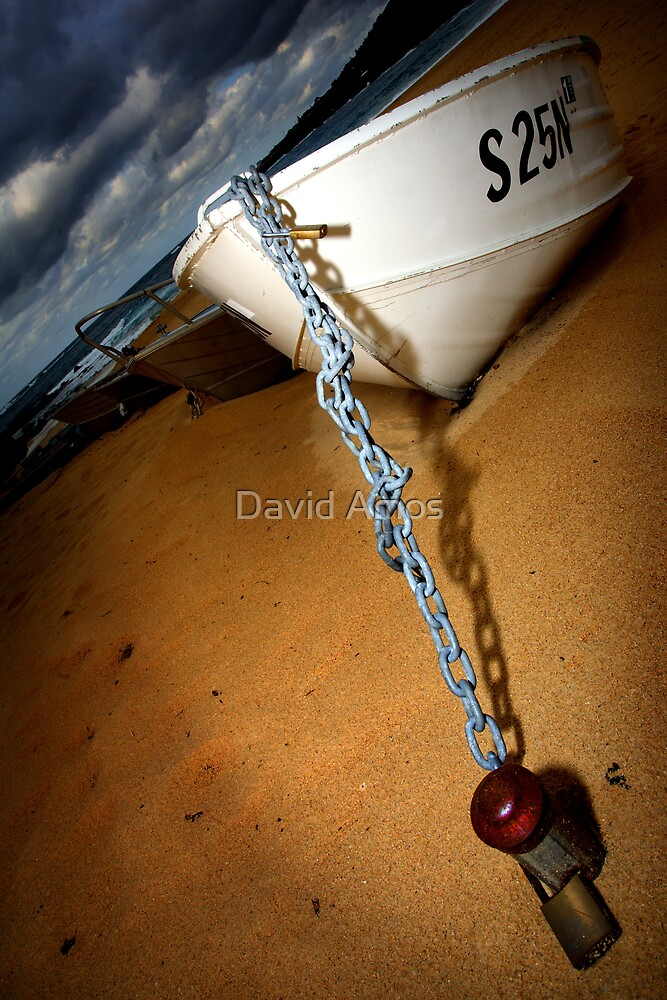 Coogee Boat. by David Amos
