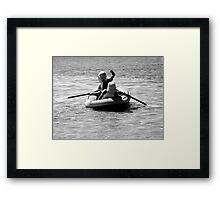 Ship Ahoy Framed Print
